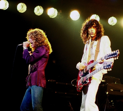 Robert Plant a Jimmy Page